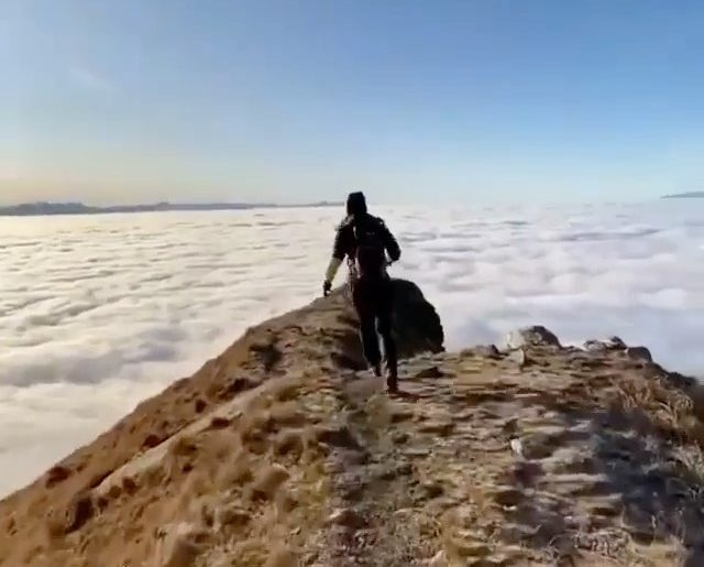 Above the clouds! Video | @colapetra  Curated by @henry.nathan  #clouds #landsca...