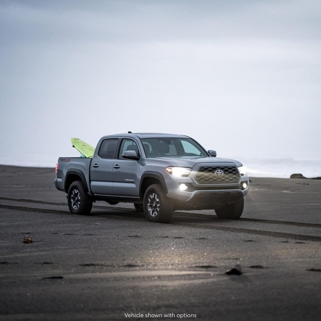 The forecast calls for a 100% chance of strength and durability. #Tacoma...