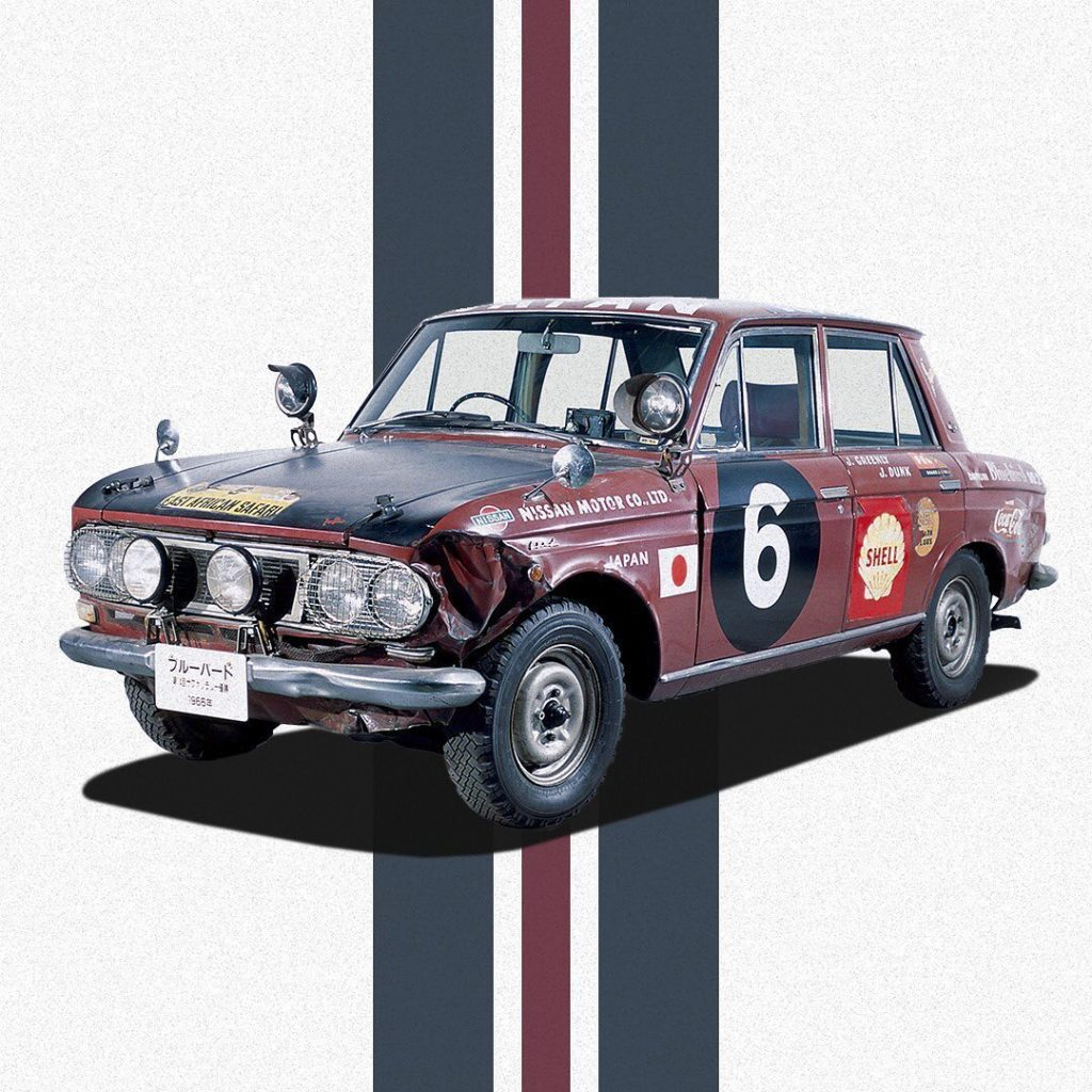 In 1966, #Datsun #Bluebird contributed to improving the image of Nissan sports c...