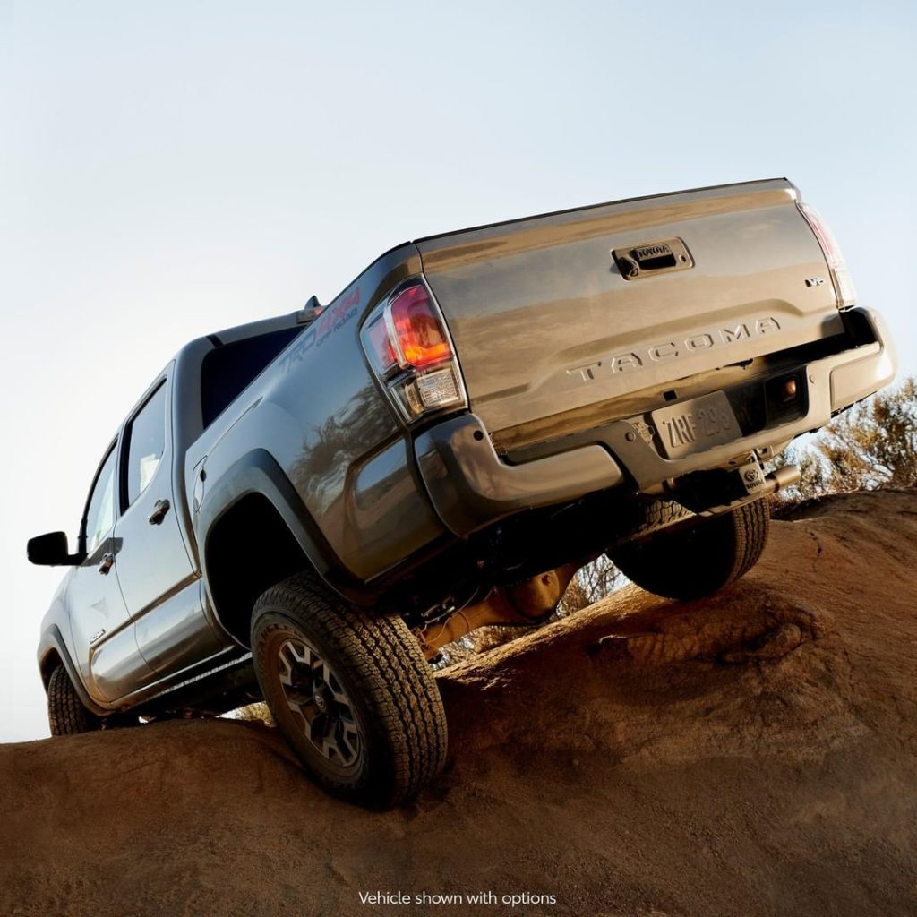 They'll hate to see it go, but will love to watch it drive away - with a #Tacoma...