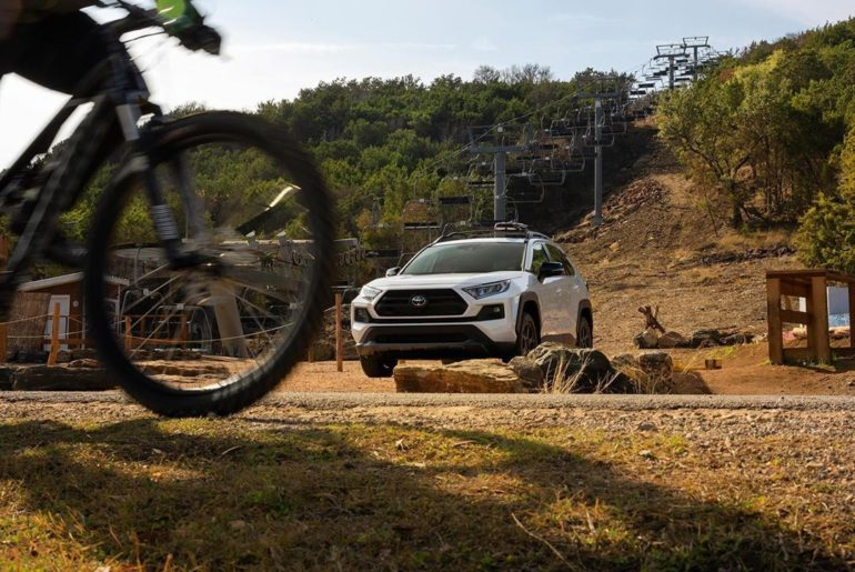 Dialed in and devoted to adventure. #RAV4 TRD is the perfect blend of sport and ...