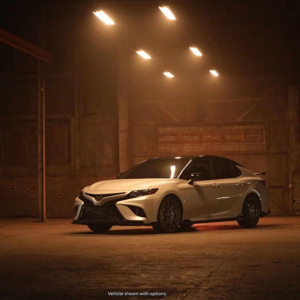 Looks that perform. #Camry #TRD...