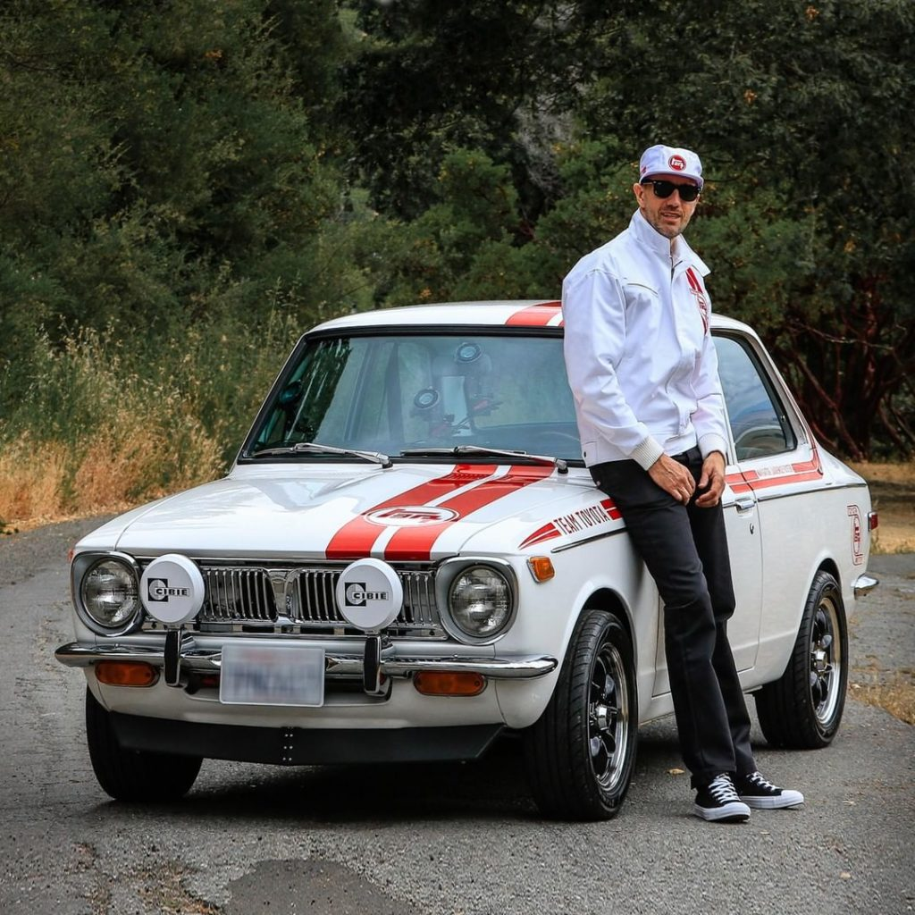 Cool like #Corolla and @jamiebestwick!  #TBT...
