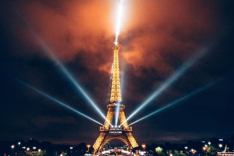 The iconic Eiffel Tower in Paris. Which perspective was your favourite? Photogra...